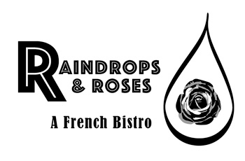 Raindrops Logo black